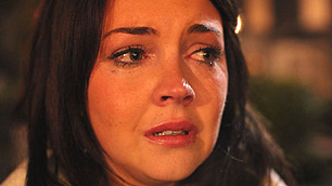 Stacey Slater on 25th anniversary live episode