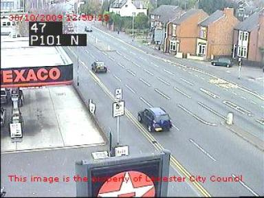 Leicester traffic cameras and traffic information