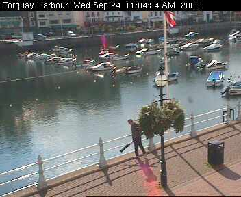 The BBC SouthWest Webcam: Torquay