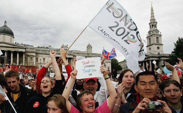 London beats Paris to 2012 Games