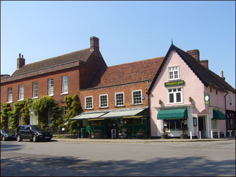 The tea room at Dedham