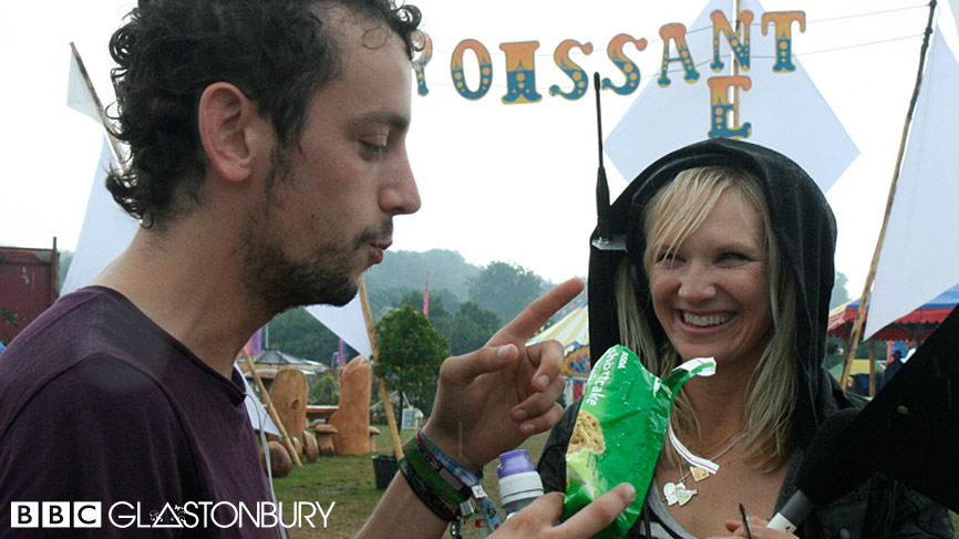 Out and About with Radio 1 at Glastonbury 2009