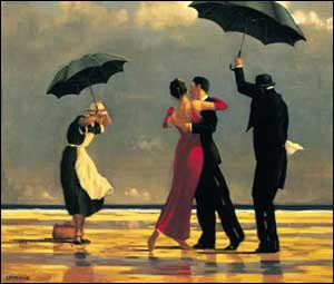 The Singing Butler painting by Jack Vettriano