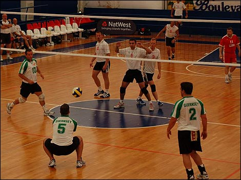 pics of volleyball. Volleyball Inter-Insular Clash