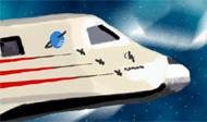 The Russian space shuttle Buran