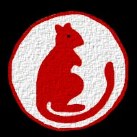 Badge of the Desert Rats - 7th Armoured Brigade.