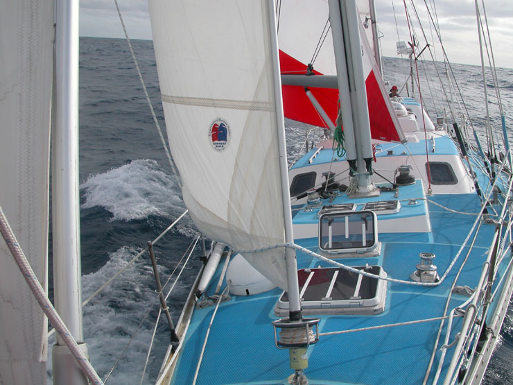 H2g2 Cape Town To Melbourne Wks 5 And 6 John Ridgway Save The Albatross Vo