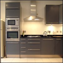 A kitchen provides ideal conditions for calculating the speed of light in.