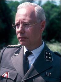 Clifford Rose as the sinister SS Officer Kessler.