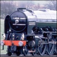 The 'Blue Peter' steam train.