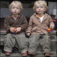 Twin boys.