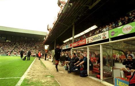 Touchline view of the Dell