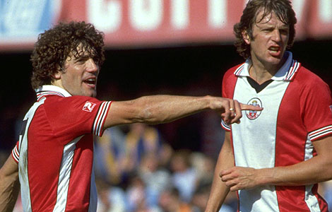 Kevin Keegan and Mick Channon