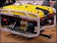 The Seaeye Falcon ROV