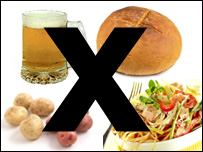 cut out of your diet all carbohydrates no carbohydrates diet