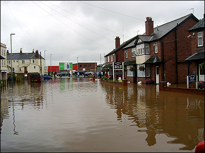 floods in hereford