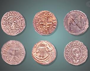 saxon coins uk