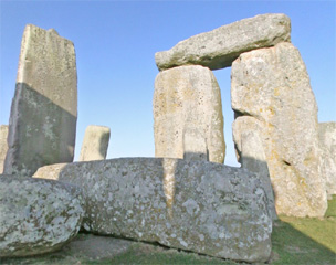 Interactive 360° panoramic of Stonehenge