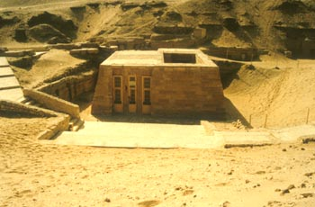 Mastaba egipcia.