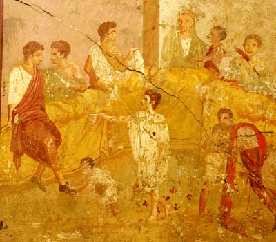 Historical Belles and Beaus: An ancient Roman Holiday - and an early ...