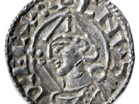 Silver penny of Cnut (Canute)