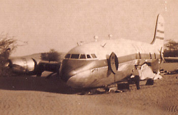 The BOAC airliner