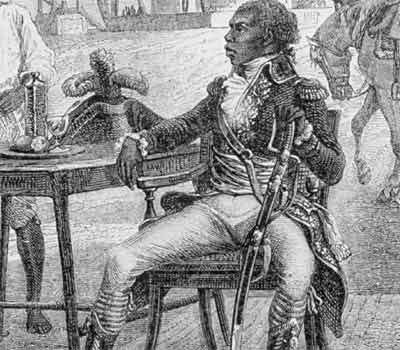 TOUSSAINT LOUVERTURE, the Haitian revolutionary and statesman who ...