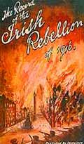 Image of Dublin ablaze during Easter Rising, 1916