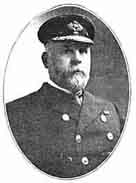 Old Newspaper photograph of Commodore Edward J Smith