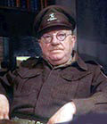 Photograph showing Captain Mainwaring from the BBC Dad's Army series