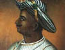 Portrait of Tipu Sultan, Ruler of Mysore, By an unknown Indian artist, 1792.