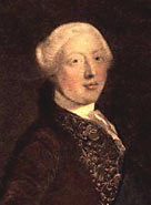 Painted portrait of George III c.1800