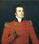 Portrait showing the 1st Duke of Wellington, by Robert Home