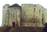The Norman-era Clifford's Tower, York Castle, York