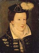 Portrait showing Mary, Queen of Scots
