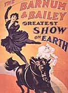 Barnum and Bailey poster, c.1890