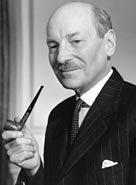 1950, British prime minister Clement Richard Attlee