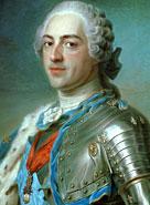 Portrait du roi Louis XV
