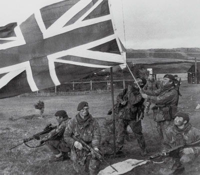 Timeline of the history of the Falkland Islands