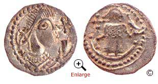 Kentish coin, c. 720 from BBC-History.