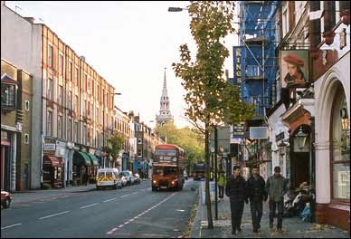 Image of Upper Street in 2001