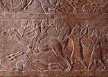 Stone panel from the North Palace of Ashurbanipal, Nineveh, Iraq c.645 BC