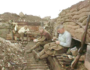 world war 1 life in the trenches essay topics