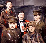 Image showing the cast of Blackadder Goes Forth