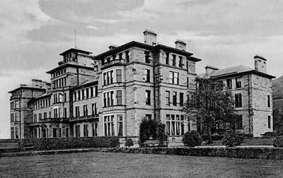 Craiglockhart, the hospital in Regeneration