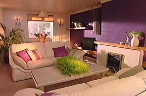 Room living room colours natural purple style modern natural