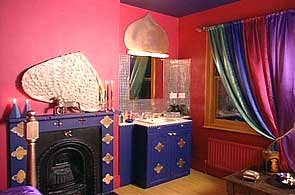 Bbc homes design inspiration arabian nights bedroom for Arabian night bedroom ideas