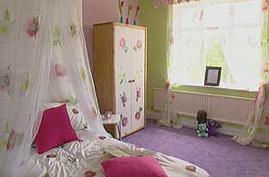 Bedroom Design Inspiration on Create A Girl S Bedroom With A Floral Theme  Shades Of Pink  Green And