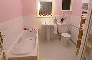 Bbc Homes Design Inspiration Pink Bathroom