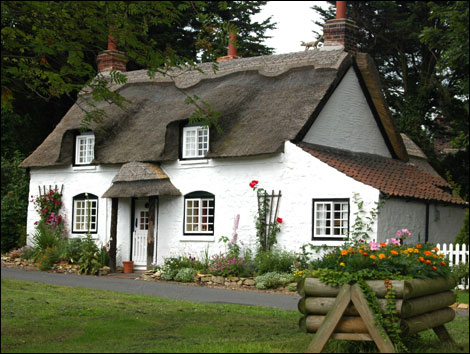 Shift lock flowers in the attic - The thatched cottage ...